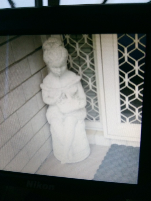 ghost statue