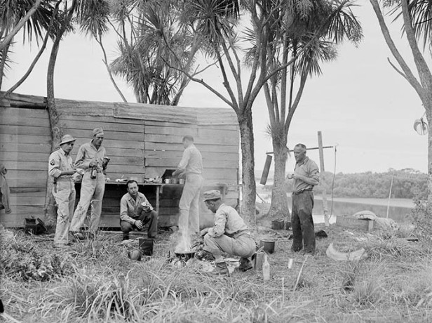american soldiers auckland circa 1943